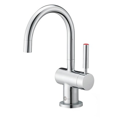 InSinkErator Indulge Modern Hot Only Faucet (FH3300) Chrome